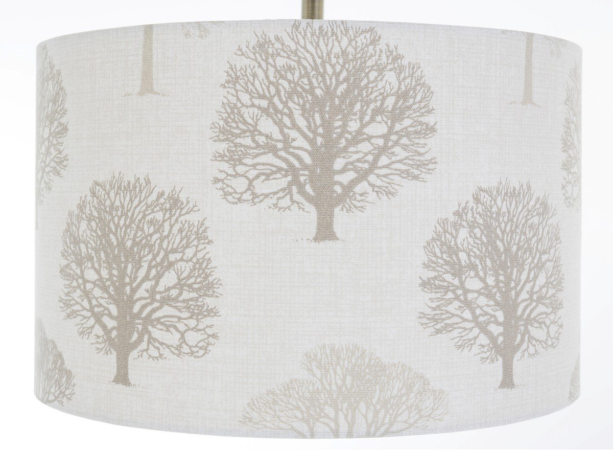 12 linen woodland trees lampshade table lamp amazon lighting geotapseo Gallery