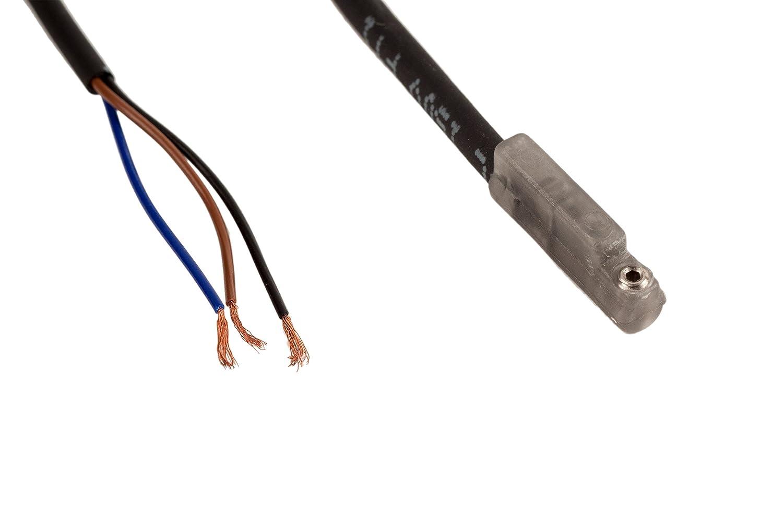 Fabco-Air 9B49-000-031 Electronic Sensor for Original Pancake, Sourcing PNP 6-24 VDC, 9' Wire Lead, 1/2' Bore 9' Wire Lead 1/2 Bore FAB   9B49-000-031