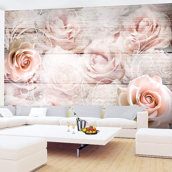 Vlies Fototapete Blumen Rosen Tapete Wandbilder XXL Wandtapete Dekoration Runa 9