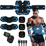 Ben Belle Abs Stimulator, Muscle Toner, Abs Stimulating Belt, Abdominal Toner- Training Device for Muscles- USB…
