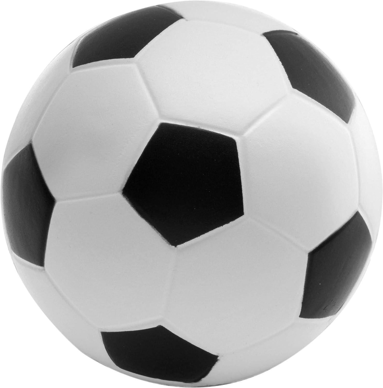 Pelota antiestrés, diseño de balón de fútbol: Amazon.es: Deportes ...