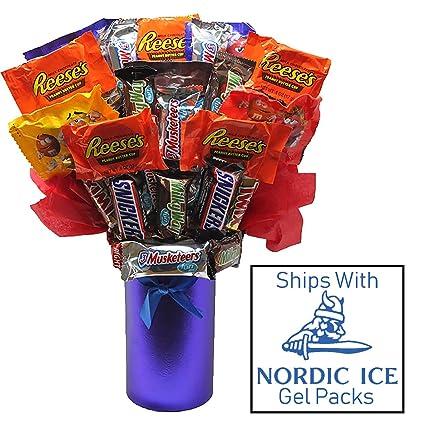 Candy Bouquet - Surtido de mini caramelos de tamaño ...