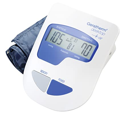 Amazon.com: Blood Pressure Monitor for Upper Arm - Geratherm Desktop: Health & Personal Care