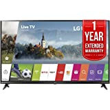 LG 55UJ6300 55-inch 4K Ultra HD Smart LED TV (2017 Model) with 1 Year Extended Warranty
