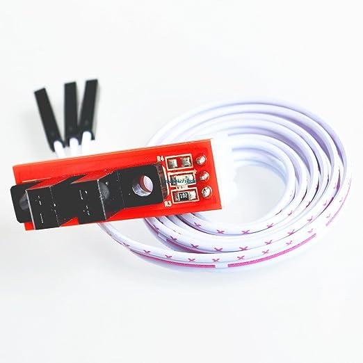 Final de carrera Óptica Óptica interruptor de límite con CABLE de ...