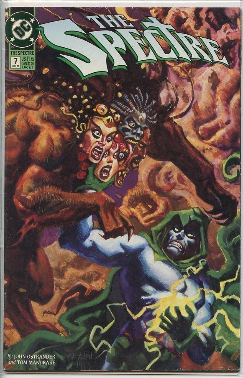 Amazon.com: SPECTRE #7, V3, 1992 1993, VF, John Ostrander, Tom Mandrake,  DC, more in store: Entertainment Collectibles