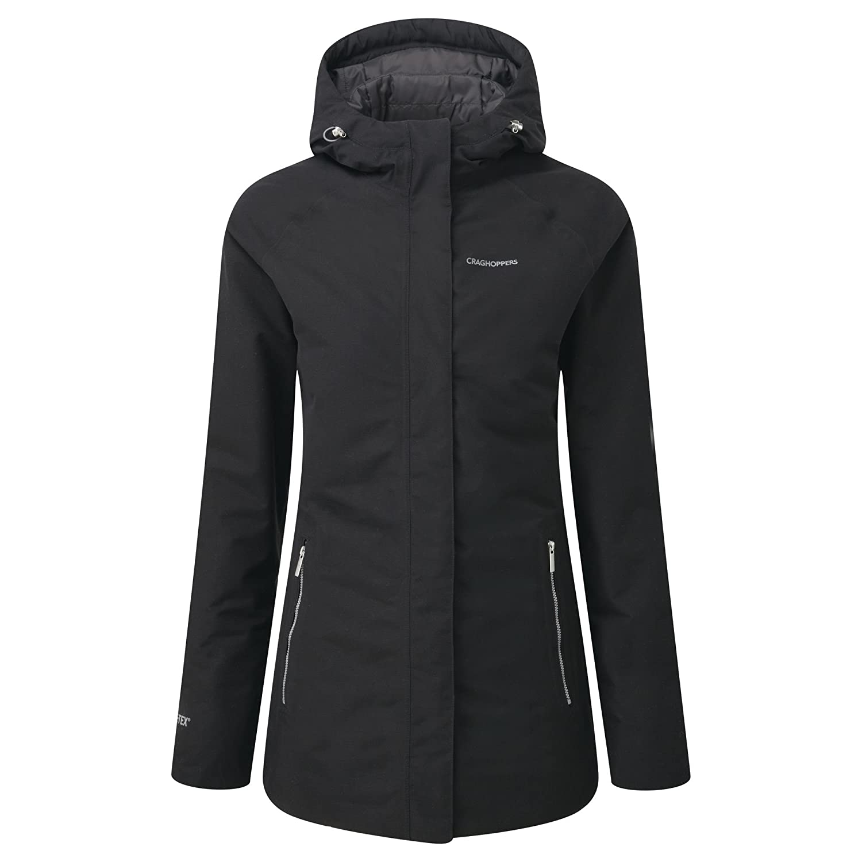 Amazon.com: Craghoppers Womens/Ladies Agetha Gore-Tex Jacket (12 US) (Redwood): Clothing