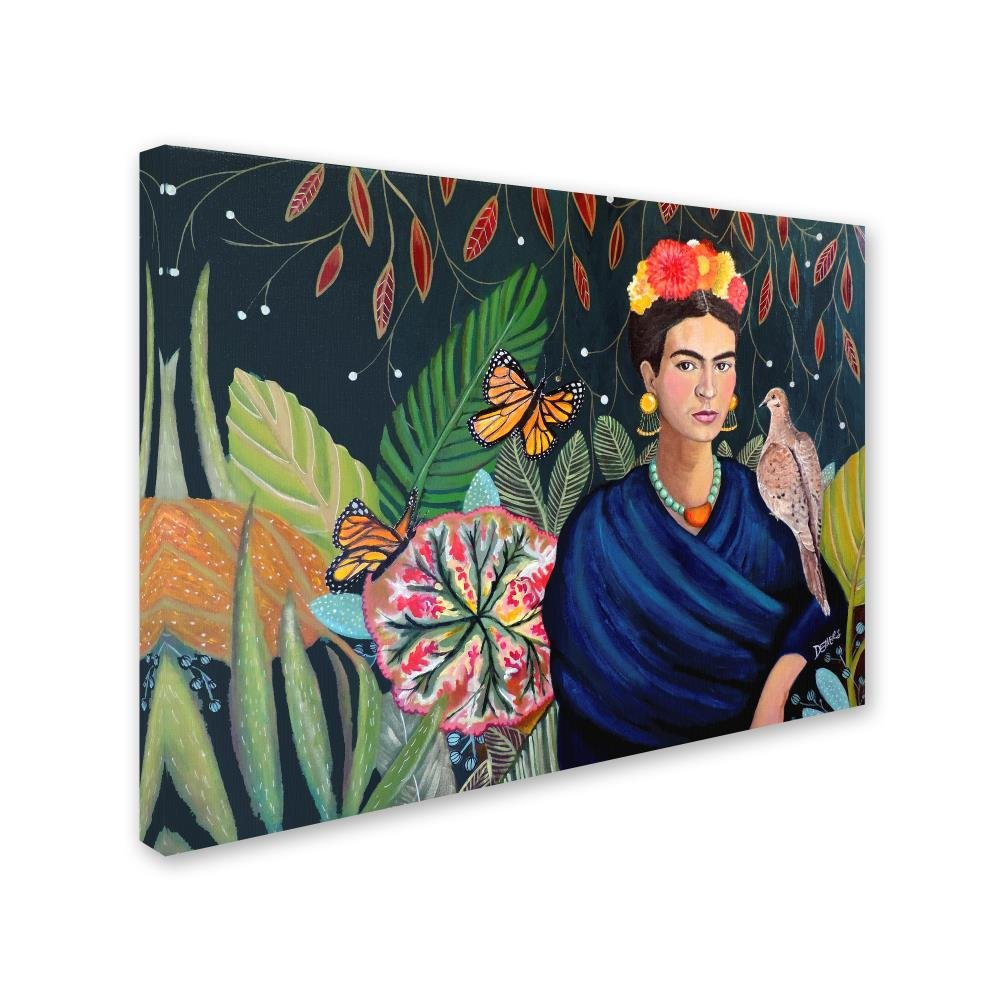Frida by Sylvie Demers, 18×24-Inch Canvas Wall Art