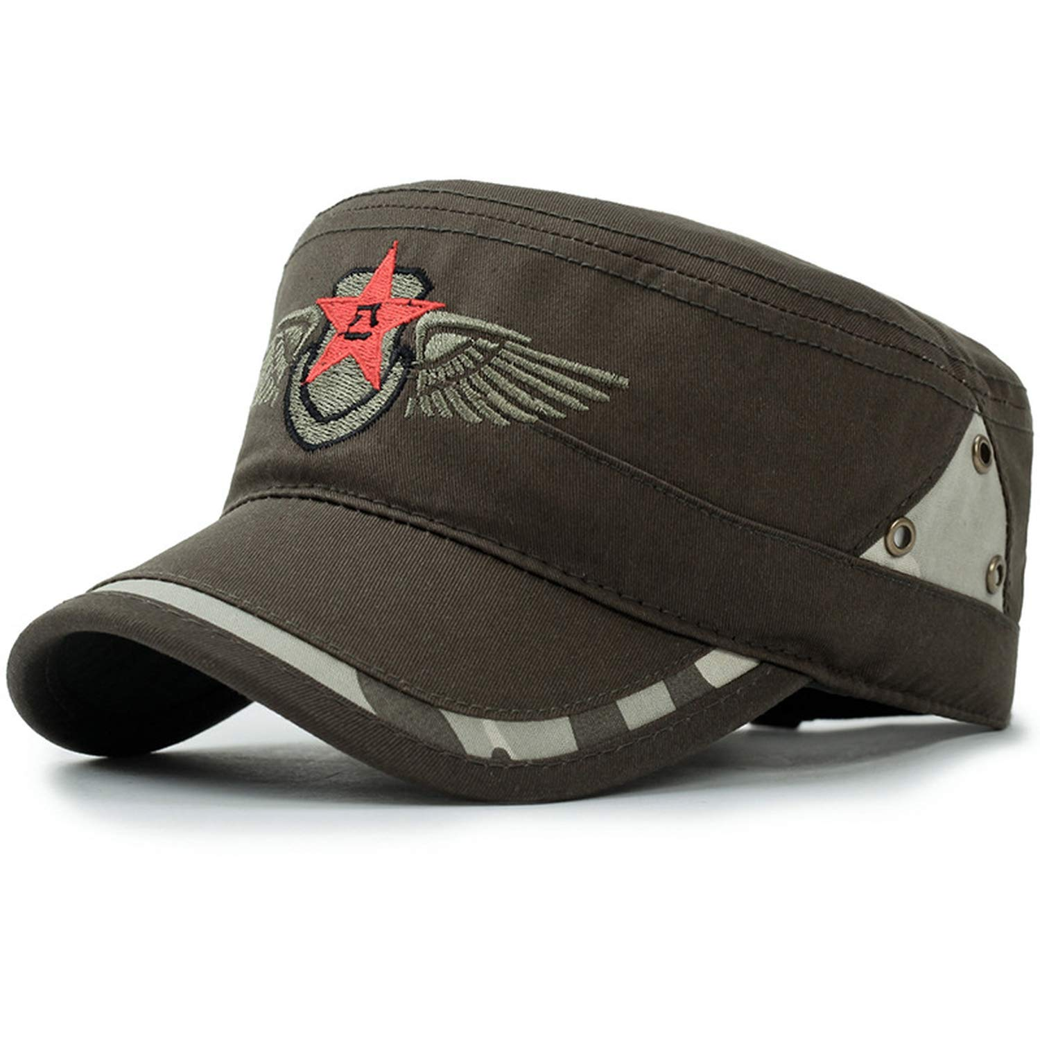 Hats & Caps Men Spring Army Gorras para Hombre Snapback Fitted Hip Hop Golf Bone Pokemon K-Pop at Amazon Womens Clothing store: