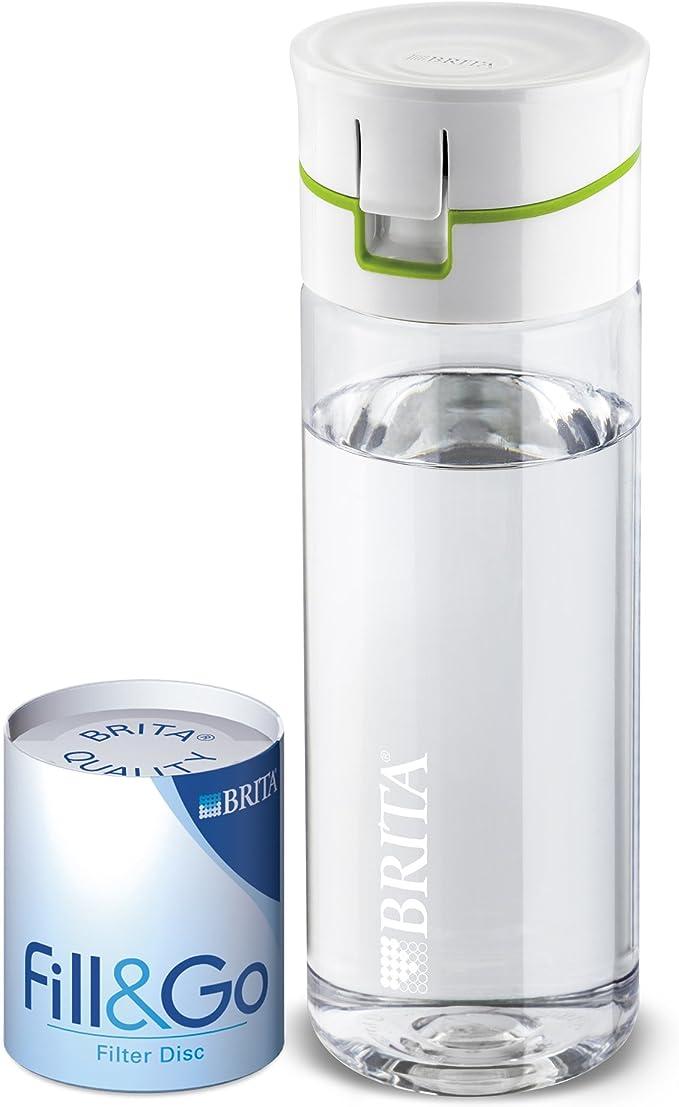 BRITA Fill&Go - Botella filtradora de Agua, Color Verde: Amazon.es ...