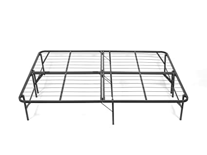 Pragma Bed Simple Base Bi-Fold Bed Frame, Queen: Amazon.in: Home ...
