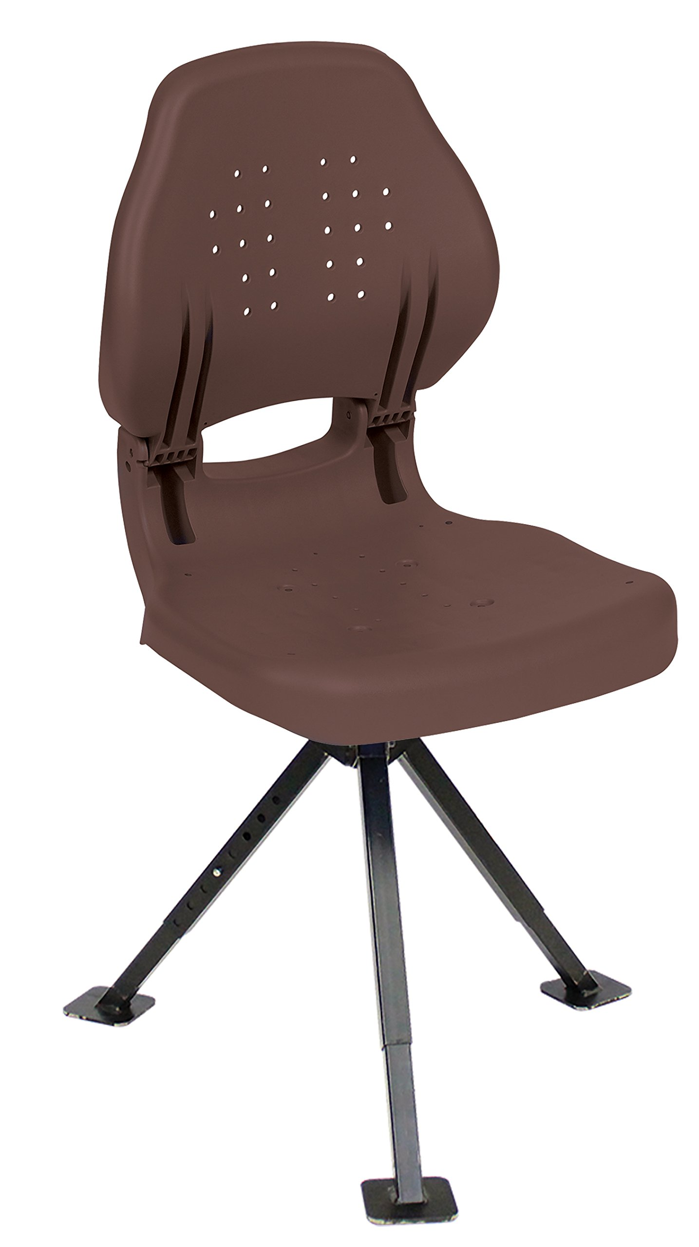 Wise Ergo Hunter Seat with Tripod 360 Stand, Brown