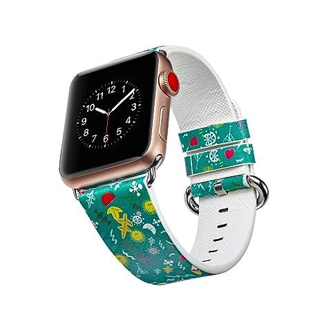 Correa de Reloj para Apple iWatch Smart Watch de 44 mm, Correa de ...