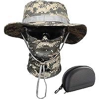 QMFIVE Boonie Bucket Hat Sombreros de ala Ancha