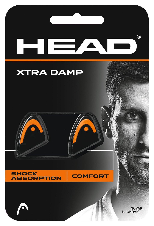 Head Xtra Damp Antivibrador de Tenis, Naranja, Talla Única Talla Única 285511