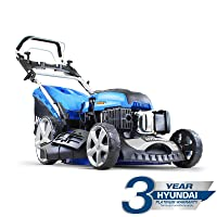 Hyundai HYM510SPE 173 cc Self Propelled Electric Push Button Start Petrol Lawn Mower