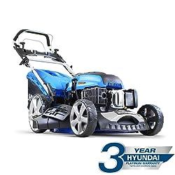 Hyundai HYM510SPE 173 cc Self Propelled Electric Push Button Start Petrol Lawn Mower
