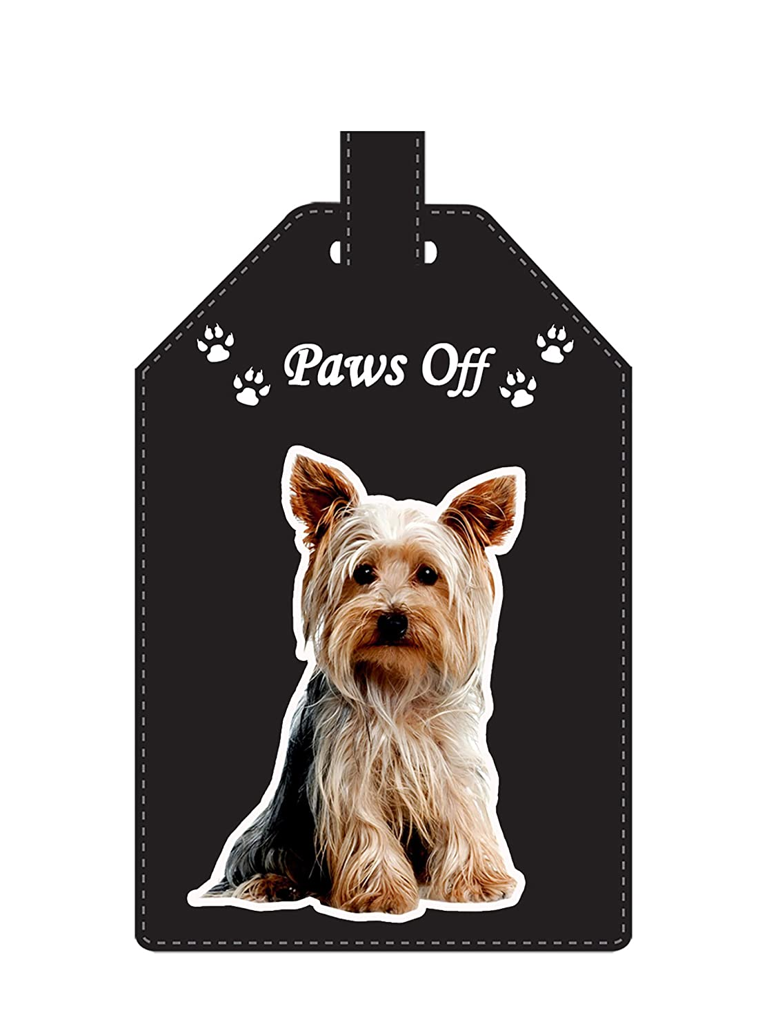 Yorkshire Terrier Gift - Luggage Tag - Ideal gift for family, friends and Dog Lovers LT-001