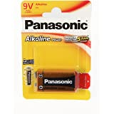 Panasonic Alkaline Power  6 LR 61- Pila de 9 V