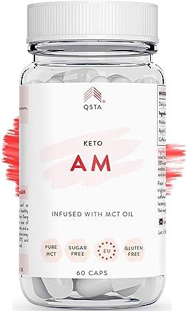 Comprar Keto Plus Actives AM (60 CAPS) - Quemagrasas potente para adelgazar y rapido, Quema grasas & Detox, Aceite MCT C8 + Vinagre de Sidra de Manzana, Fat Burner Reductor, Kit Dieta, PERSONALIZADO +MEDICOS