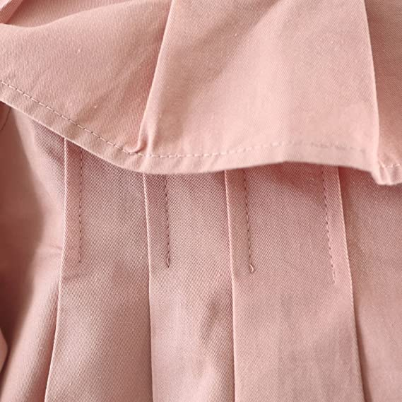 Yying Abrigos Niñas Chaquetas Manga Larga - Outerwear Princesa Prendas Algodón Arco Otoño Invierno Caqui Verde Rosa 80 85 90 100: Amazon.es: Ropa y ...