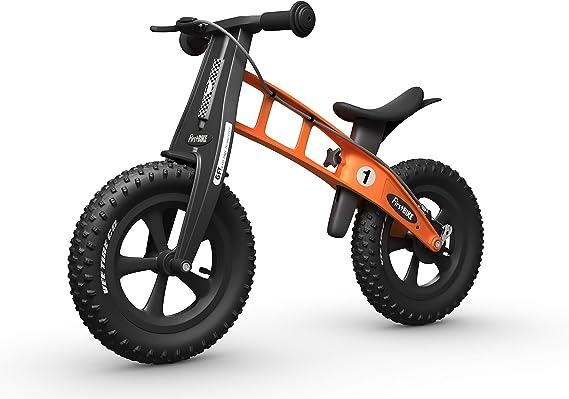 FirstBIKE Fat Edition - Bicicleta sin Pedales con Freno de Mano ...