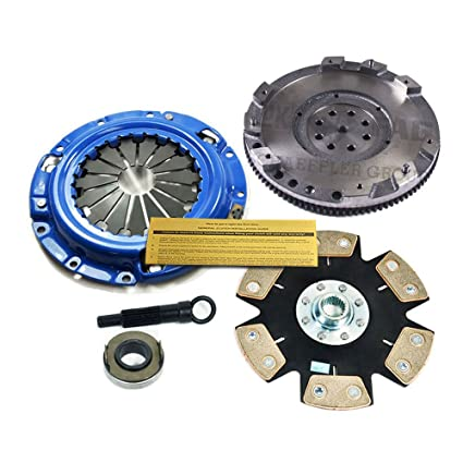 Amazon.com: EFT STAGE 4 CLUTCH KIT+FLYWHEEL MITSUBISHI 3000GT SL STEALTH ES RT 3.0L NON-TURBO: Automotive
