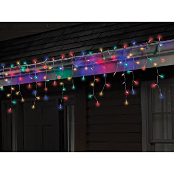 Amazon.com: Celebrations 40762-71 Led Twinkle Icicle Light Set, 5.5', 100  Multi-color Lights: Home & Kitchen - Amazon.com: Celebrations 40762-71 Led Twinkle Icicle Light Set, 5.5