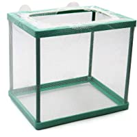Aquarium Fish Breeder Box, Fish Isolation Box, Hatching Box, Juvenile Fish Spawning Incubator, Water Isolation Net Hatchery