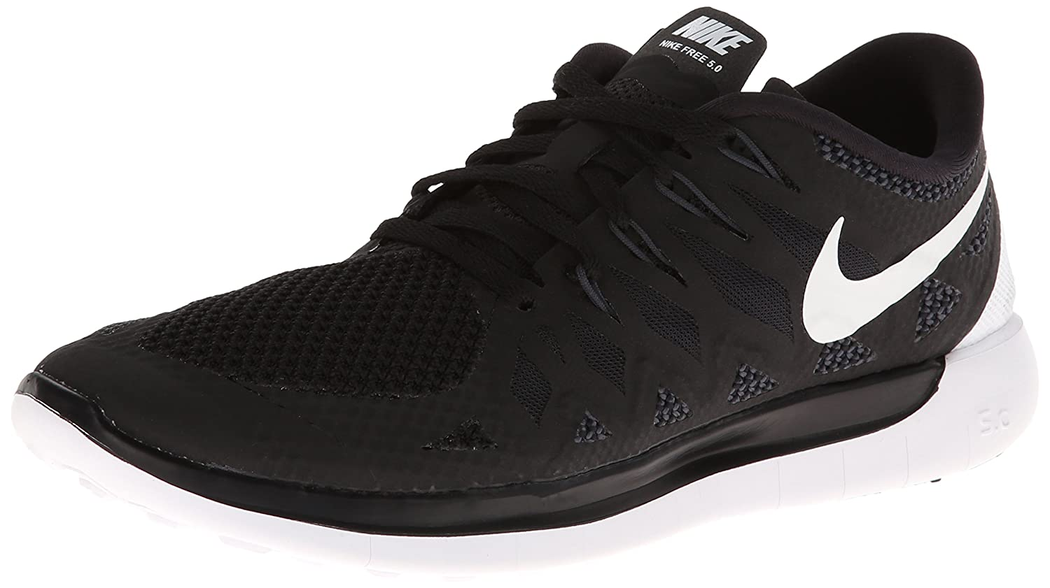 nike free 5.0 black\/anthracite\/photo blue\/white wire