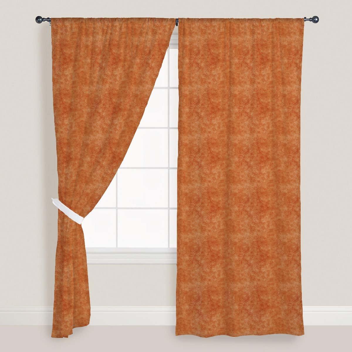 AZ Animal Hide Door & Window Curtain Satin 4feet x 9feet; SET OF 3 PCS