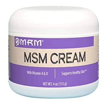 MRM, MSM Cream, Net Wt  4 Oz