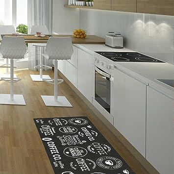 Tappeto per cucina Coffee House tappeto moderno di Unamourdetapis ...