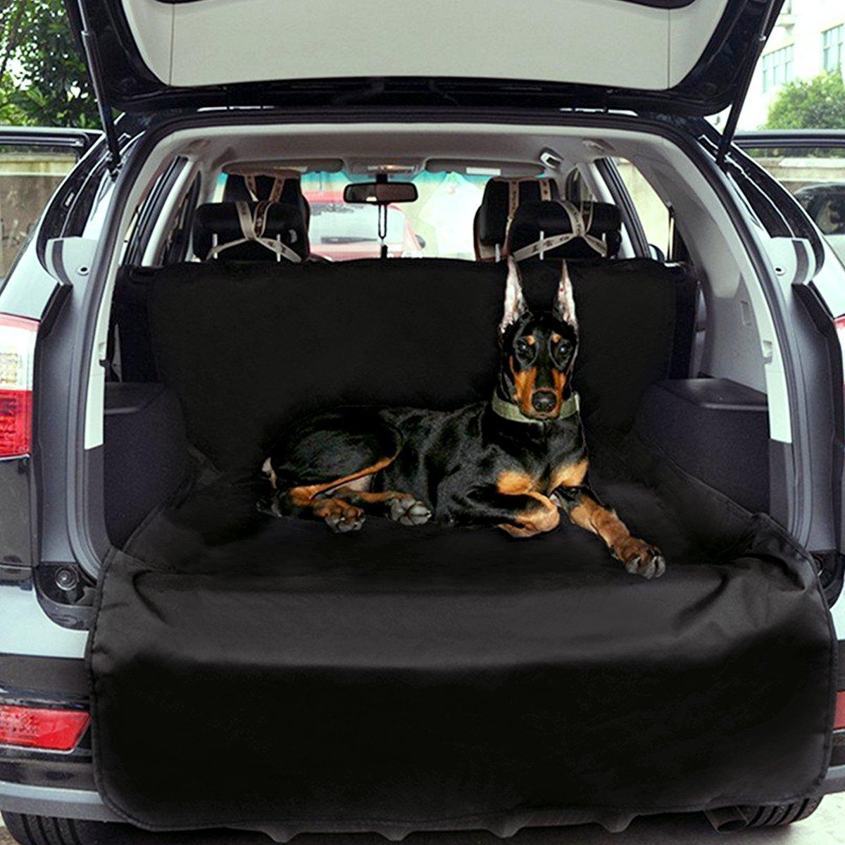 Zone Tech Car Bed Back Cargo Trunk Liner Pet Mat Seat