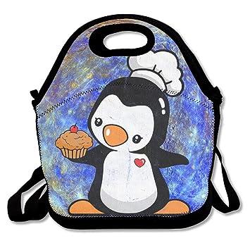 Amazon.com  Time For A Cupcake Bake Penguin Handy Portable Zipper ... f3fe6f6f91742