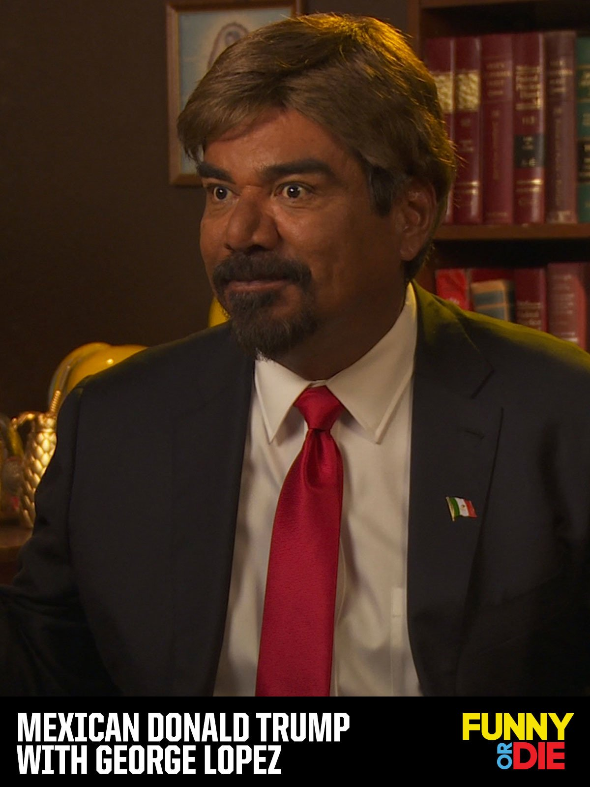 Mexican Donald Trump with George Lopez on Amazon Prime Video UK
