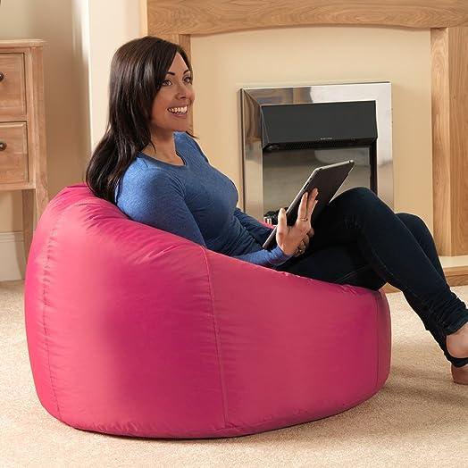 Bean Bag BazaarR Panelled XL Chair Indoor Outdoor