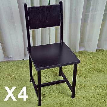 Amazonde Multiware Eßzimmer Stühle Set Von 4 Moderne