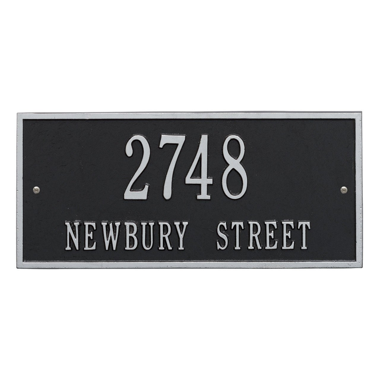 Customized Harford Address Plaque 2 Lines 16''W x 7''H