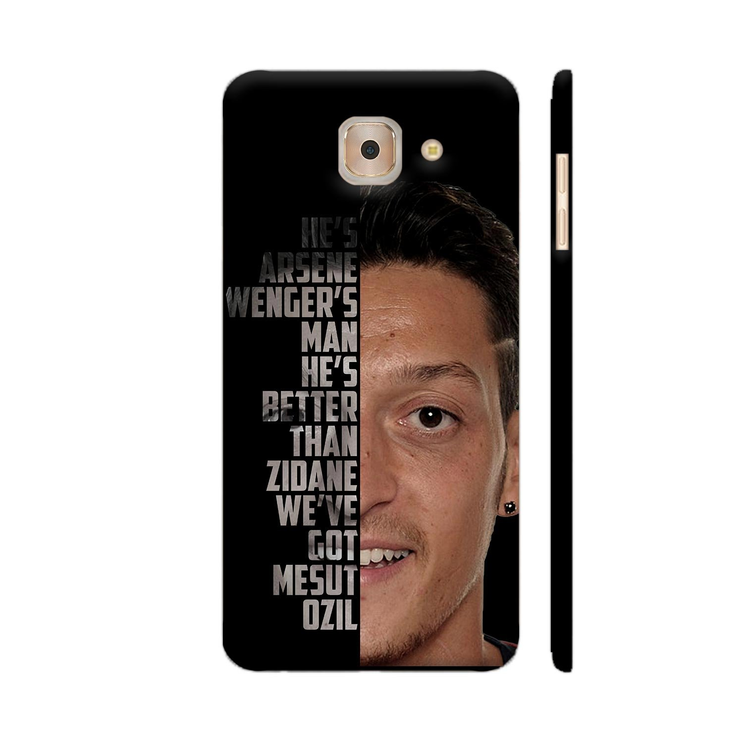 huge discount 68182 39a0a Colorpur Samsung J7 Max Cover - Mesut Ozil Typography: Amazon.in ...