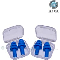 My choice Soft Silicone Noise Reduction Ear Plugs (4 units) -Combo Pack of 2 Pairs