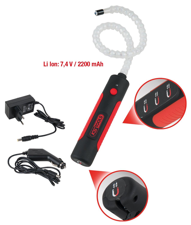 6 Watt 1 LED Kopflicht KS Tools 150.4345 Flexible Inspektionslampe