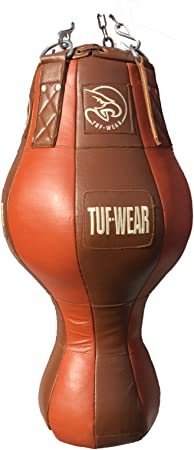 Tuf-Wear Classic Brown Leather Floor to Ceiling Ball
