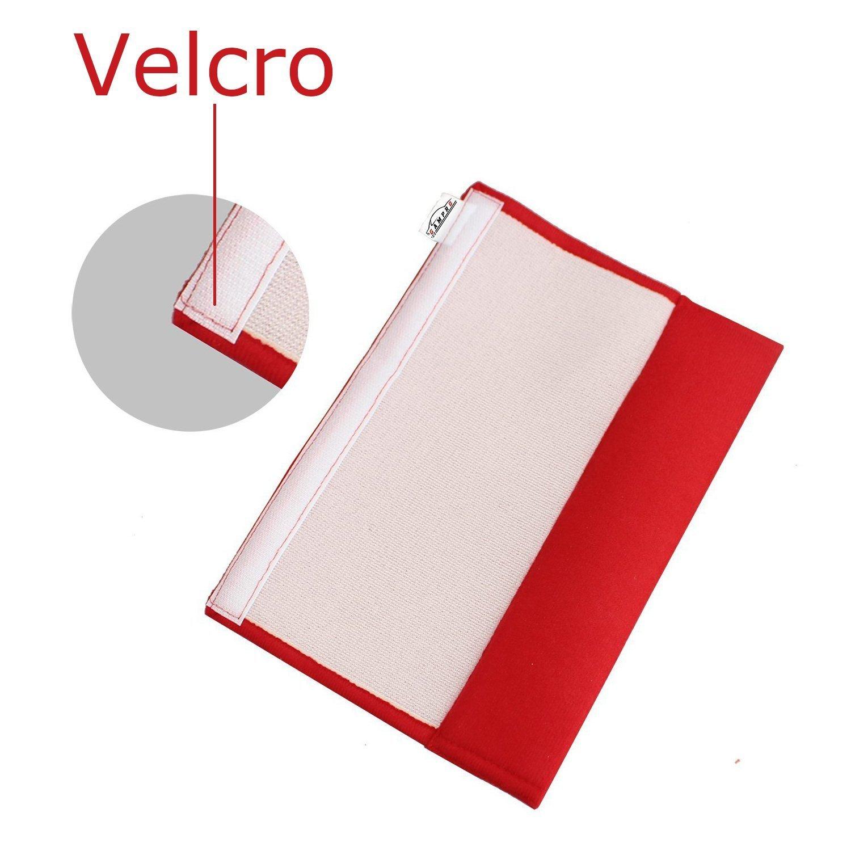 Backpack Gampro Car Seat Belt Pad Cover Suitable for Car Seat Belt Shoulder Bag RED 2-Pack Soft Car Safety Seat Belt Strap Shoulder Pad for Adults and Children
