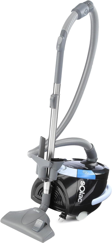 Solac New Beagle Confort, 220-240 MB/s, 400 W, 2000 W, 3 L, Negro, 72 Db - Aspirador: Amazon.es: Hogar