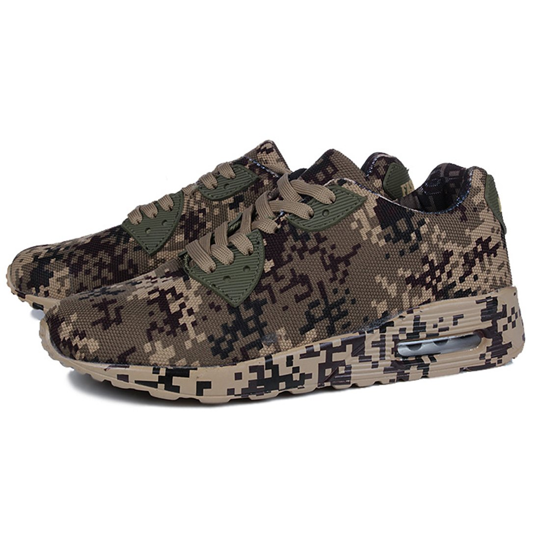 89ceb5ff3fb8 Amazon.com: Jacky's Camouflage Unisex Men's Shoes Height Increase ...