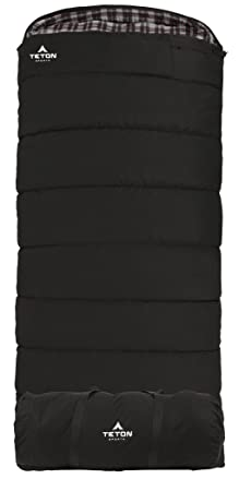 TETON Sports Outfitter XXL Sleeping Bag Warm and Comfortable Sleeping Bag Great for Fishing, Hunting, and Camping Great for When it s Cold Outdoors Storage Duffle Bag Included