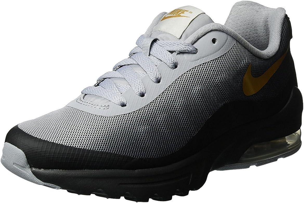 21ae9376a08a Nike W Air Max Invigor Print, Chaussures de Sport Femme, Noir-Negro ...