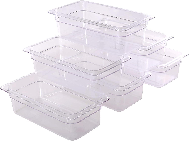 CMI 1/3 Size Polycarbonate Food Pans,4