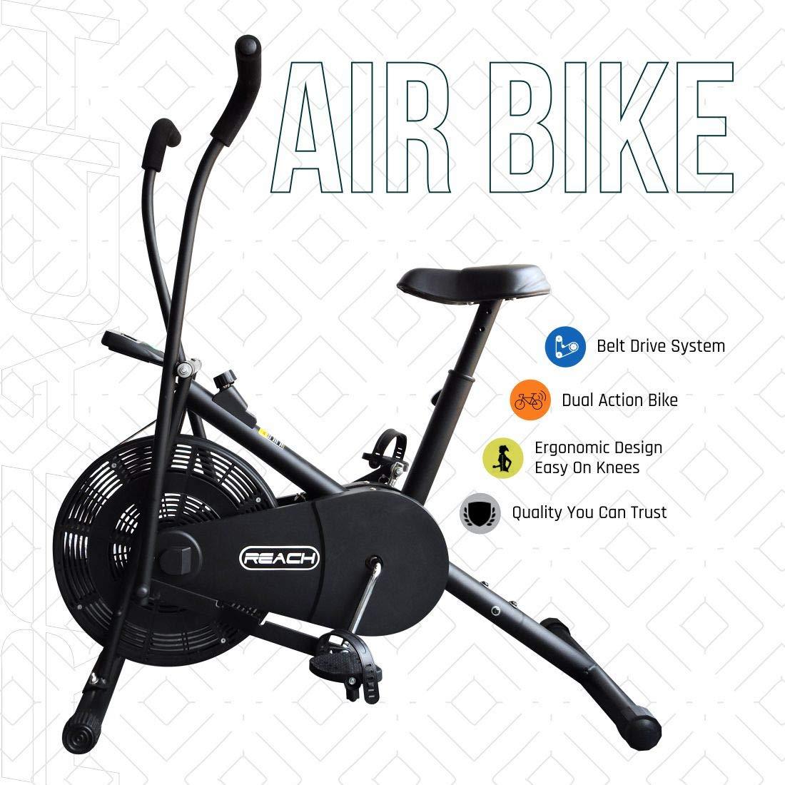 air bike home gym equipment in India